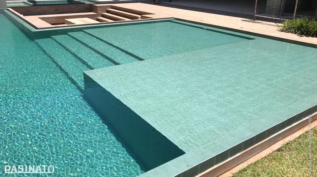 Porcelanato Green Pool